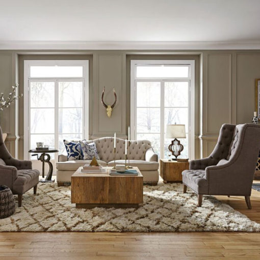 Four Great Reasons to Try the Sofa-Facing-Sofa Arrangement
