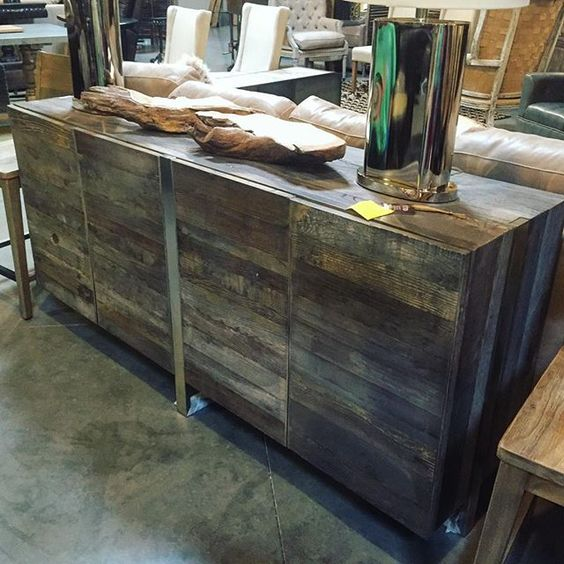 Rustic Industrial Buffet The Find Reno. «