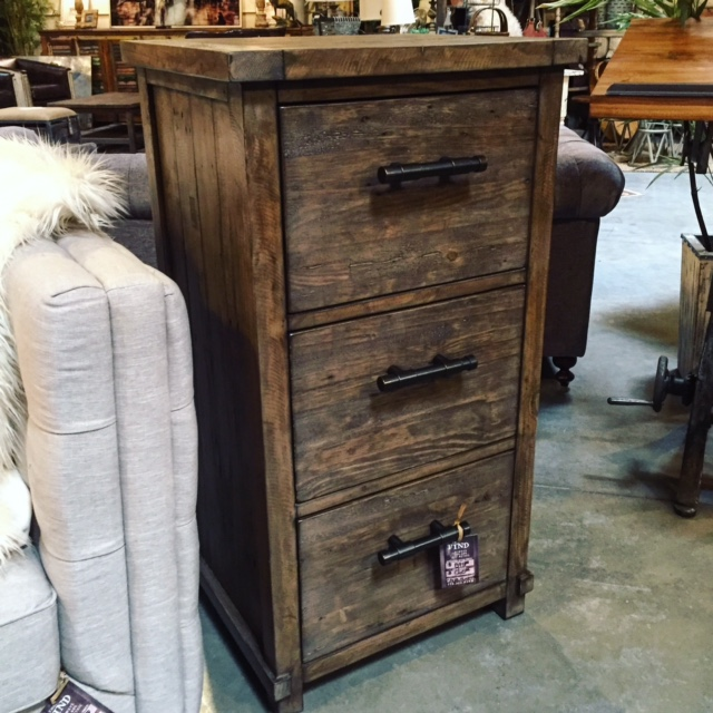 Delicieux Rustic Filing Cabinet The Find Reno