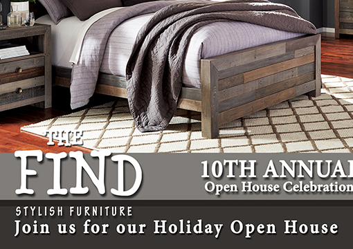 Join us Thursday for a Holiday Open House & Art Show!