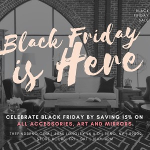 The Find Reno Black Friday