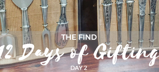 12 Days of Gifting at The Find – Day 2