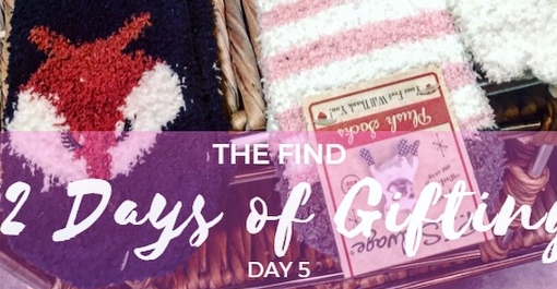 12 Days of Gifting at The Find – Day 5