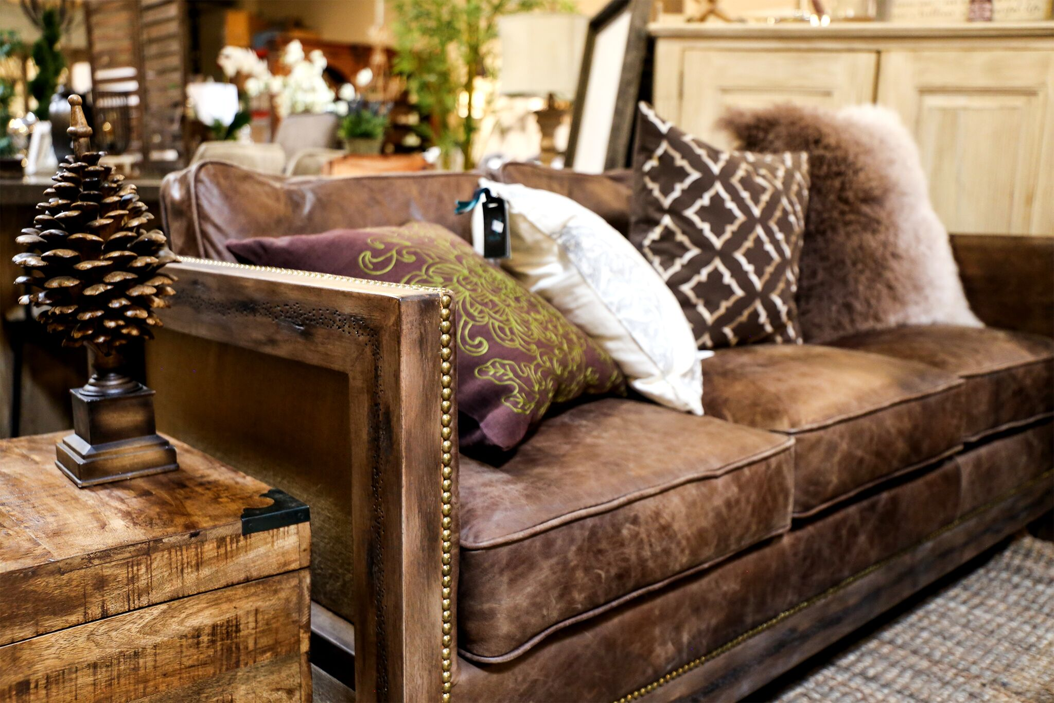 Strange Simple Ways To Style Leather Furniture Tips From The Find Reno Onthecornerstone Fun Painted Chair Ideas Images Onthecornerstoneorg