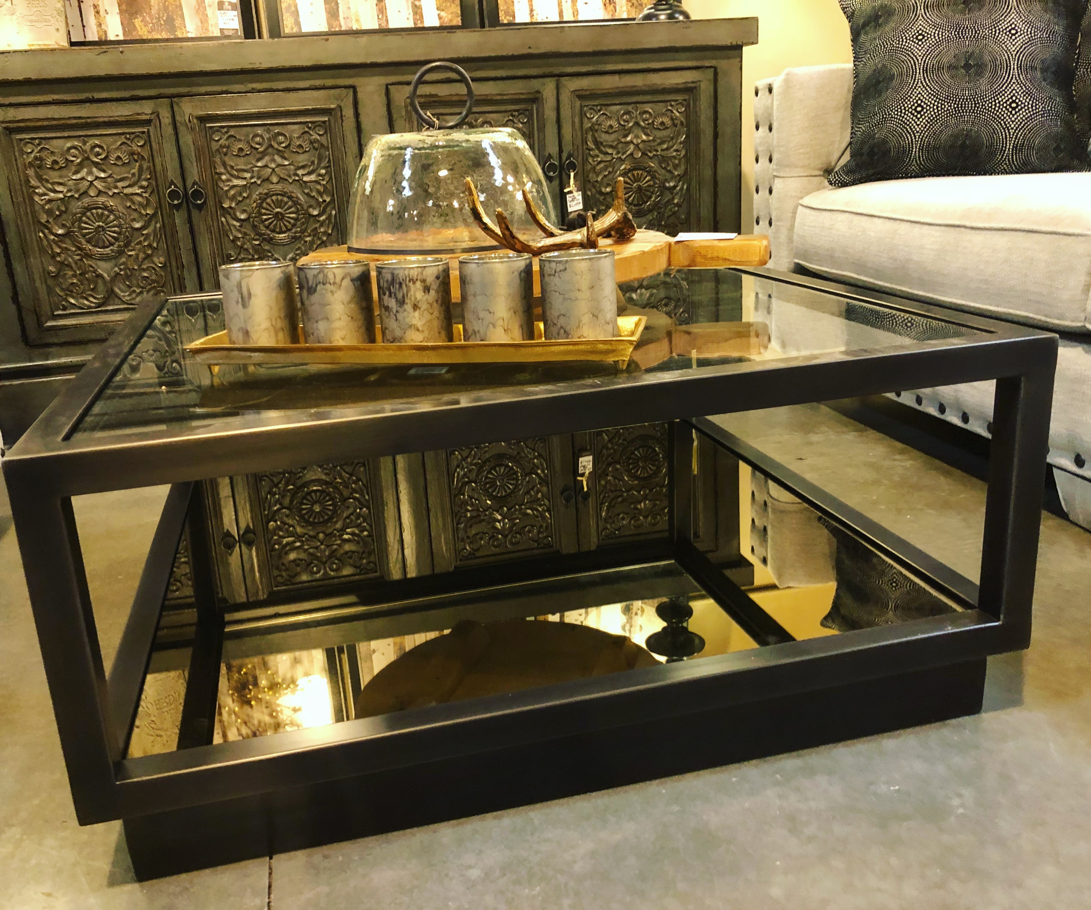 the-find-reno-metal-glass-coffee-table