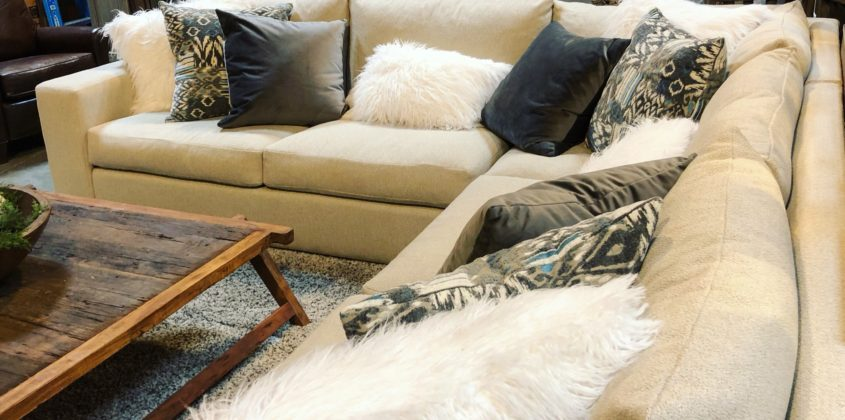 Stunning sectional sofa The Find Reno