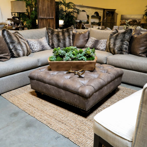 How to Pull Off a Big Sectional in a Small Space